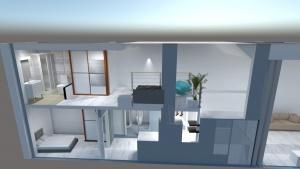 Infografía para diseño de duplex Málaga