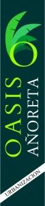 Publicidad bandera Urbanización Oasis Añoreta