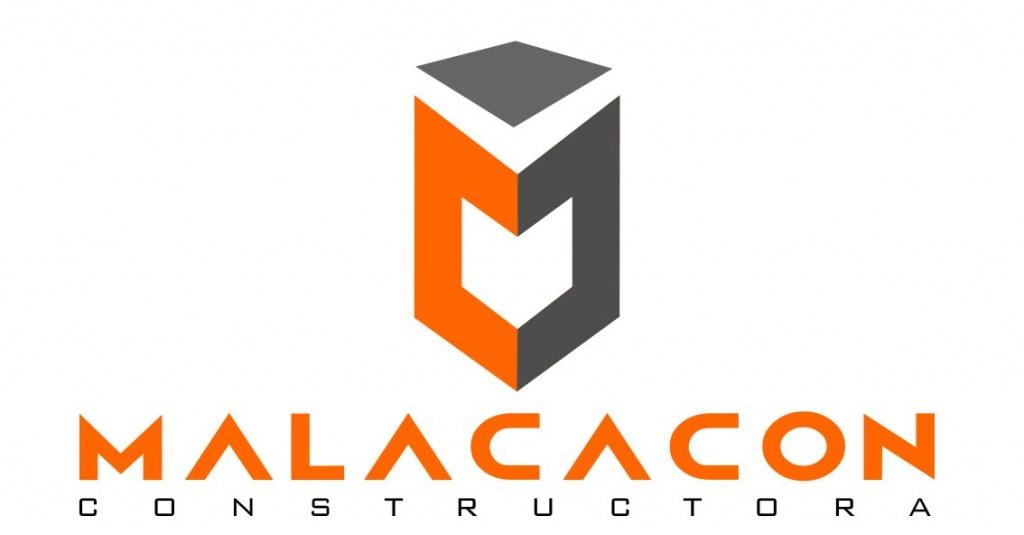 Logotipo Malacacon constructora 2