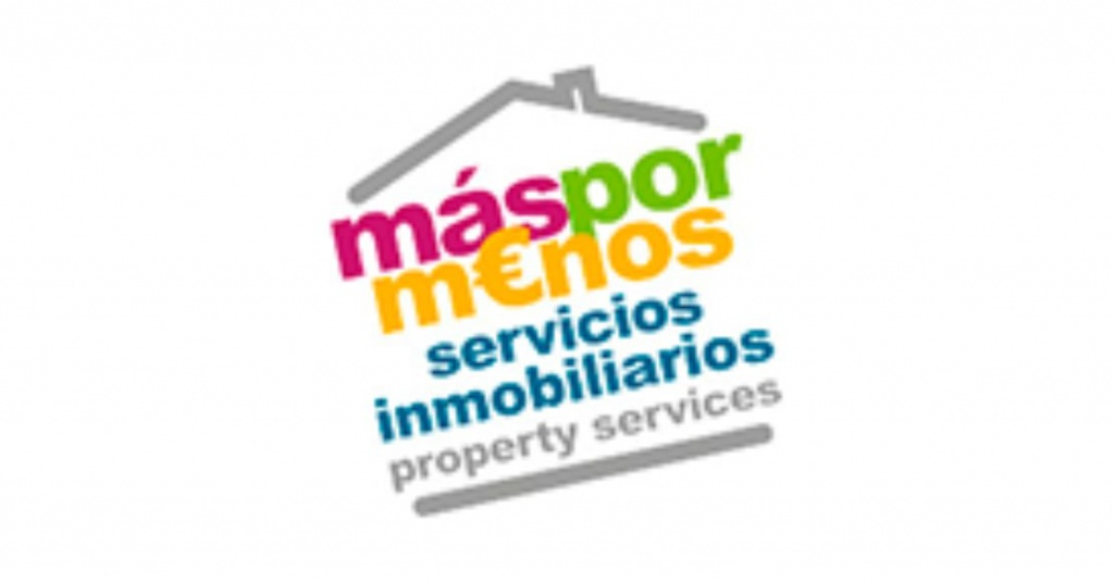 Logotipo inmobiliaria Masxmenos