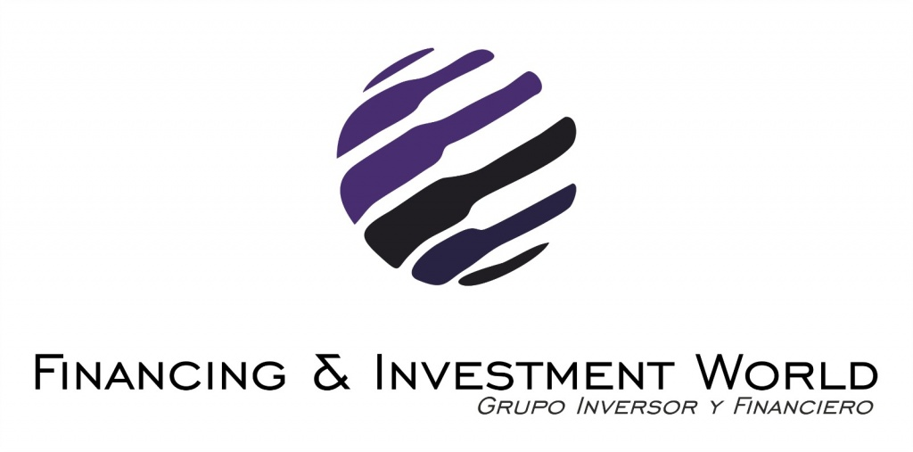 Logo financing & Investment Word