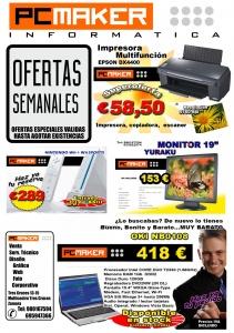 Publicidad cartel venta Informática ofertas