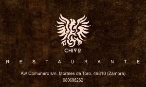diseño de tarjetas Restaurante el Chivo